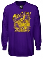 Long Sleeve Choot Dis T-Shirt