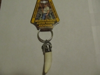 Real Gator Tooth Keychain